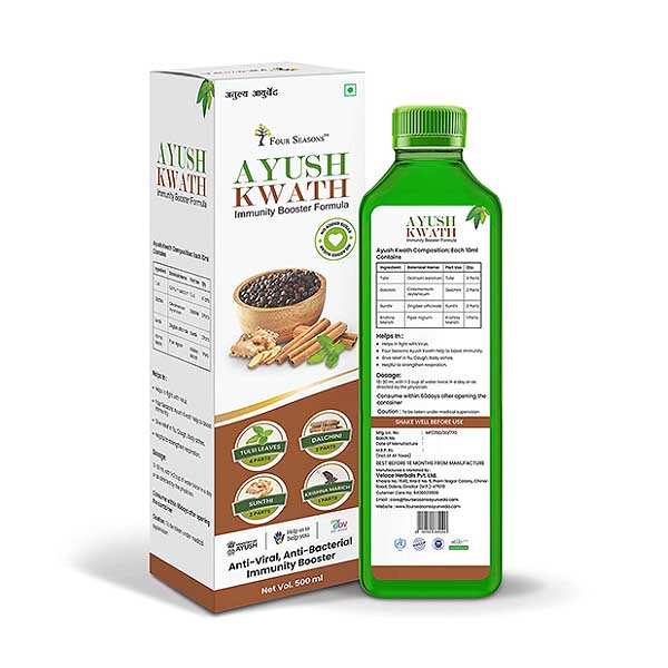 Four Seasons Ayush Kwath Juice
