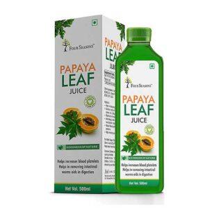 Four Seasons Papaya Leaf Juice