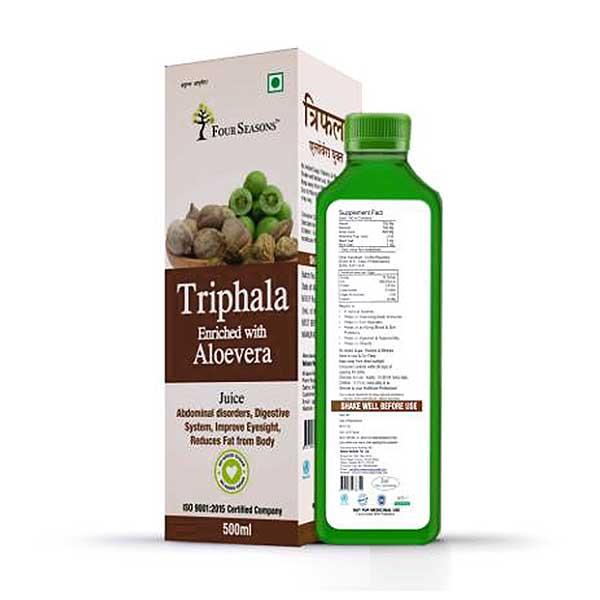 Four Seasons Triphala Juice with Aloevera