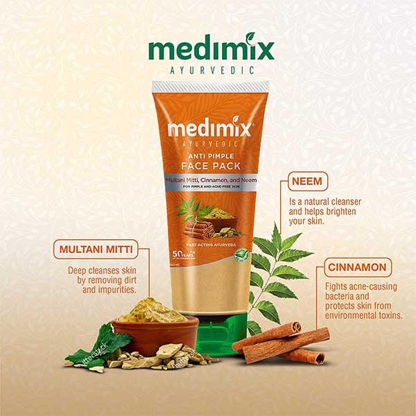 Medimix Ayurvedic Anti Pimple Face Pack