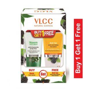 VLCC Neem + Anti Tan Skin Lightening Face Wash