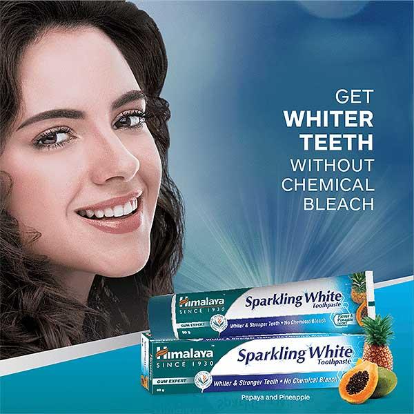 Himalaya Sparkling White Toothpaste