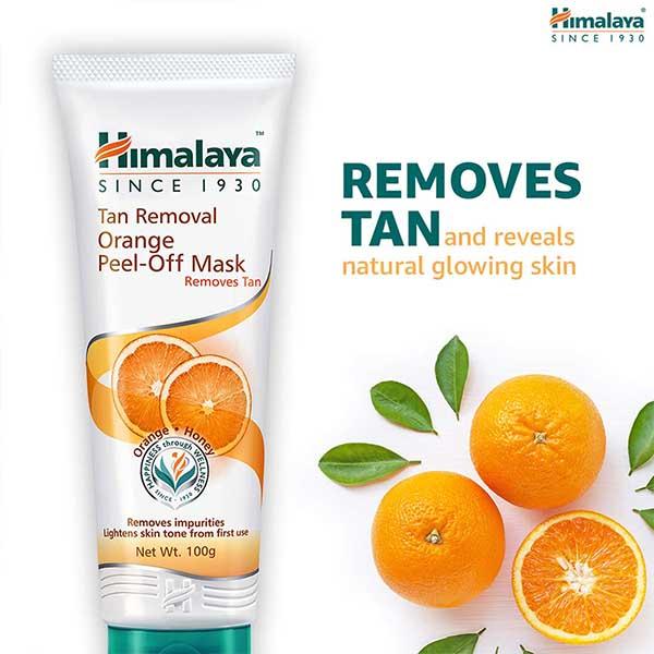 Himalaya Tan Removal Orange Peel Off Mask