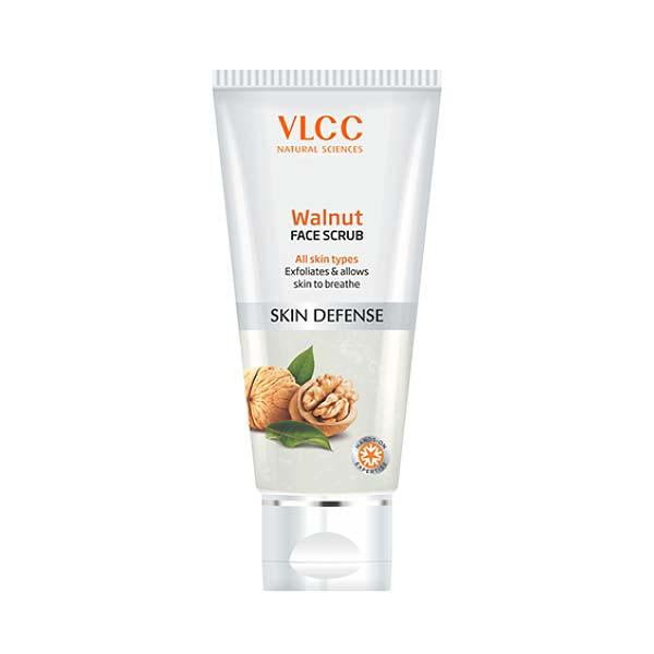 VLCC Walnut Face Scrub
