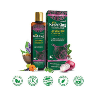 Kesh king Ayurvedic Onion Oil