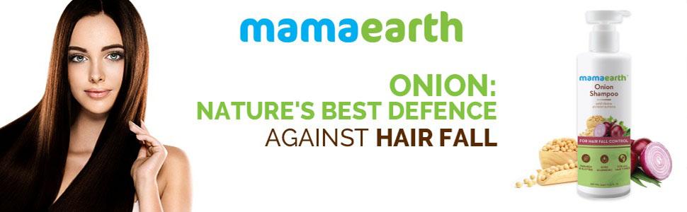 Mamaearth Onion Hair Fall Shampoo