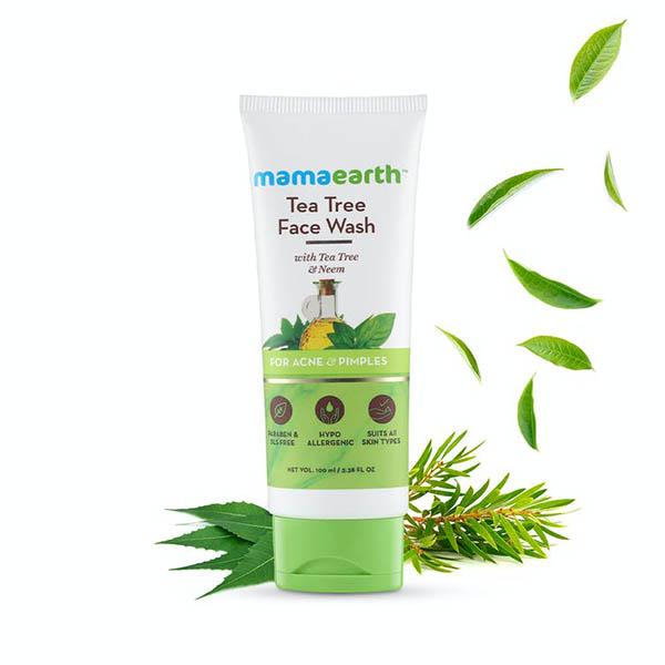 Mamaearth Tea Tree Face wash-01