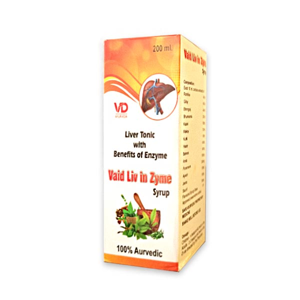 VD Vaid Liv In Zyme Syrup