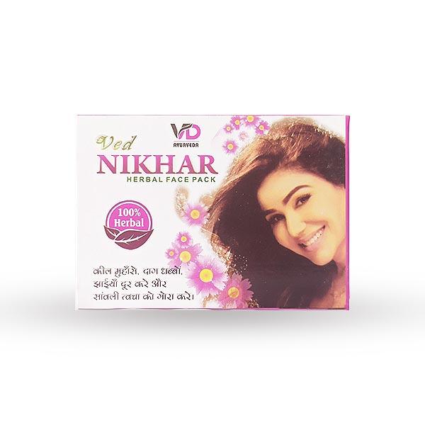 VD Ved Nikhar Herbal Face Pack