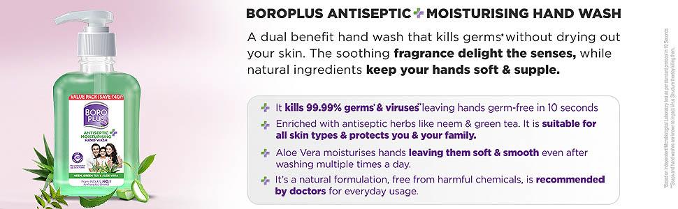Boroplus Antiseptic Moisturising Hand Wash