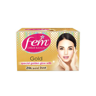 Fem Gold Creme Bleach With Real Gold