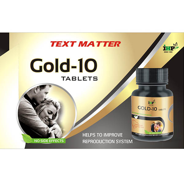IHP Gold-10 Tablets
